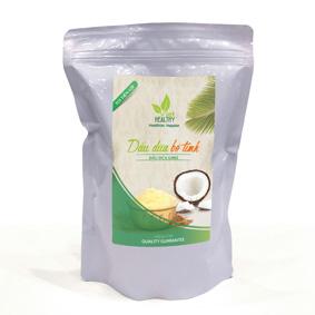 Dầu dừa Ghee 1 lít túi tiện lợi