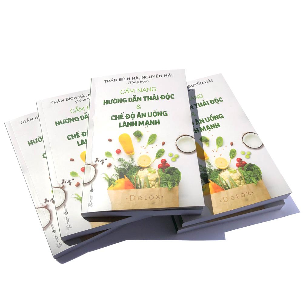Sách Hướng dẫn thải độc & Chế độ ăn uống lành mạnh