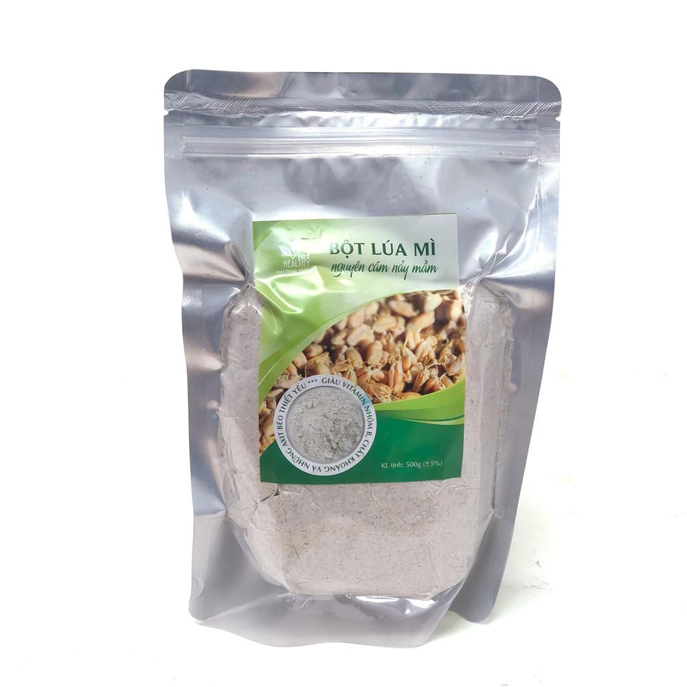 Bột lúa mì nguyên cám nảy mầm 500g