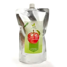 Giấm táo nguyên chất 1 lít túi tiện lợi