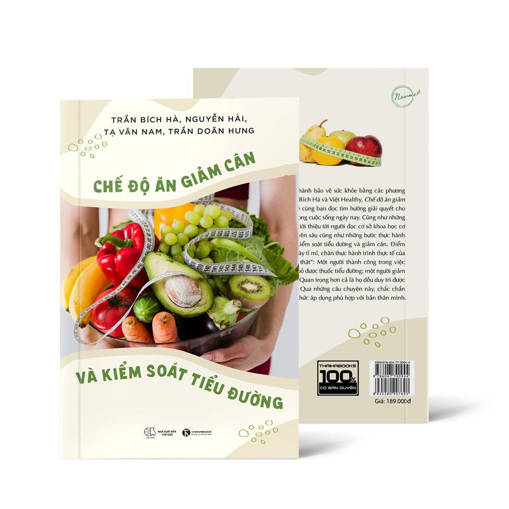 Sách Chế độ ăn giảm cân và kiểm soát tiểu đường