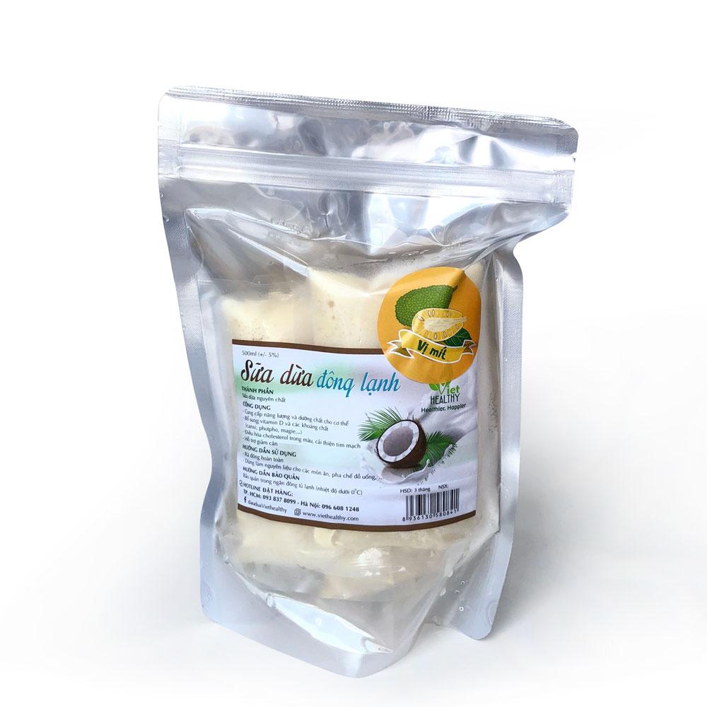 Sữa dừa nguyên chất + mít 500ml
